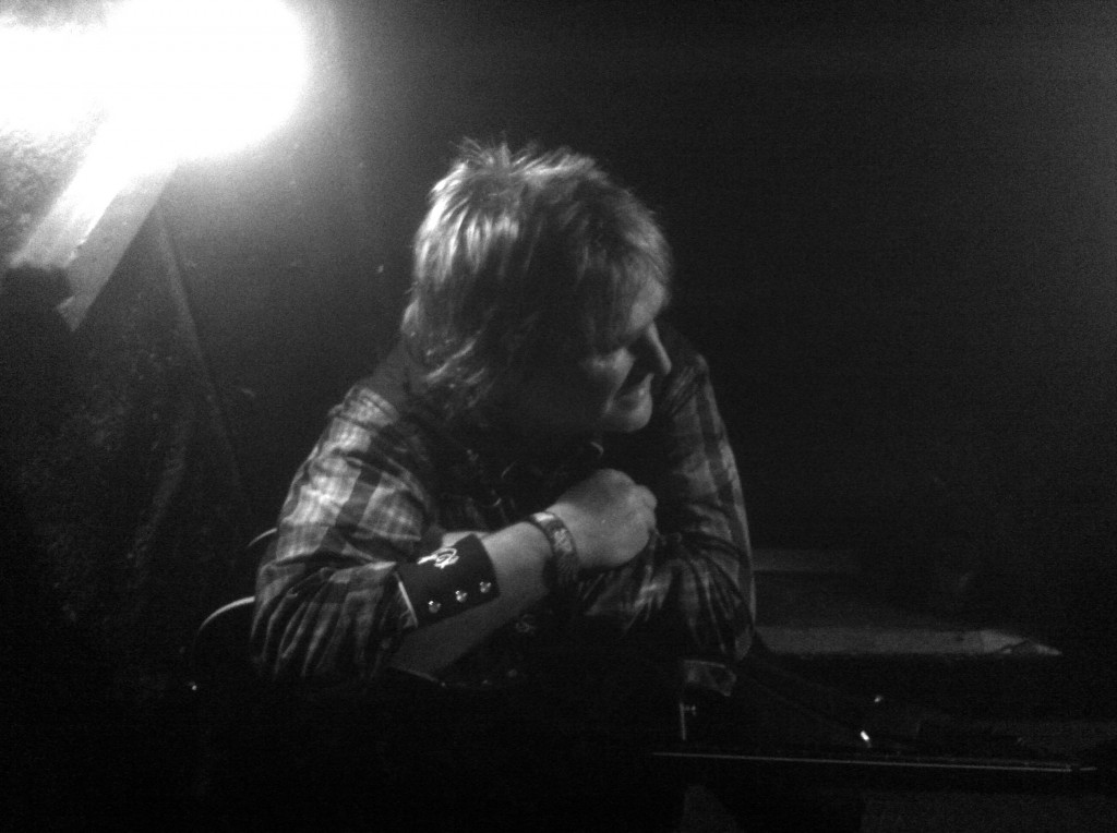 Mike Peters Backstage at Bochum Zeche