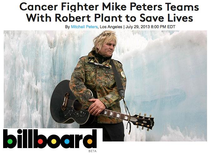 Mike Peters Billboard