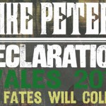 Mike Peters - Declaration 2014 Wales