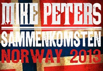 Mike Peters Norway 2013