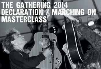 The Alarm Gathering 2014 Masterclass