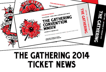 The Alarm The Gathering 2014 Ticket Info