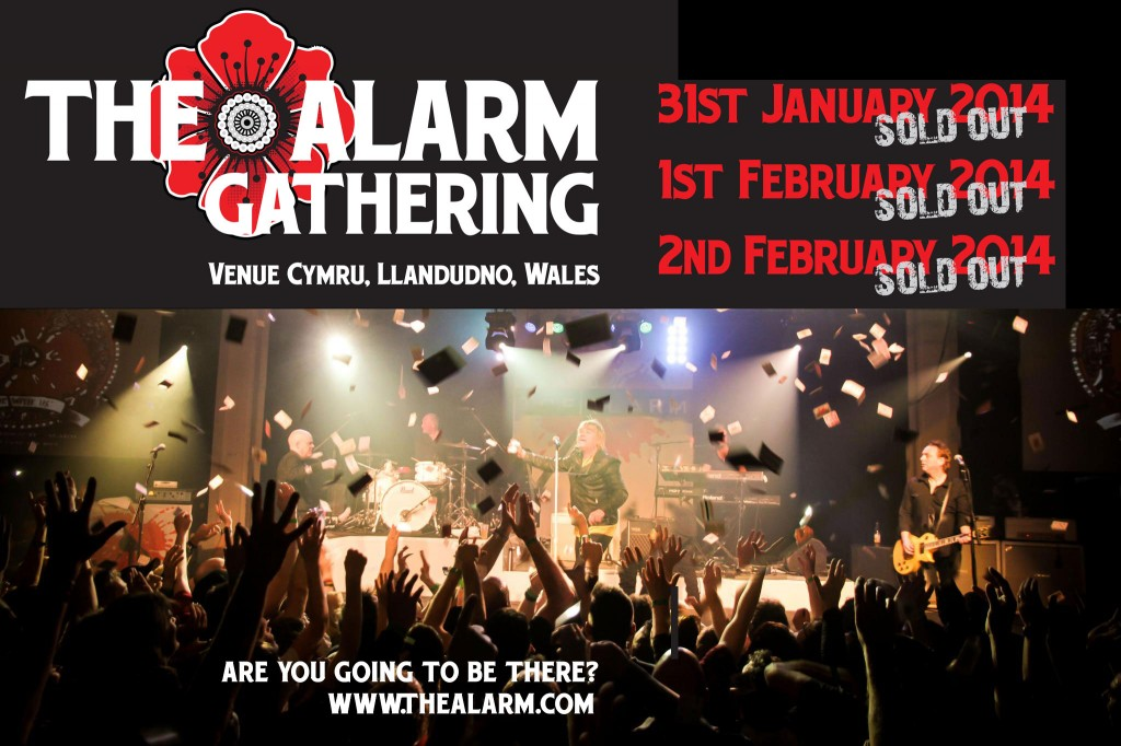 The Alarm The Gathering 2014 SOLD_OUT