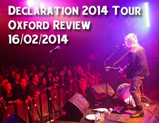 Declaration Tour 2014